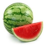 Picture of Crimson sweet watermelon seeds